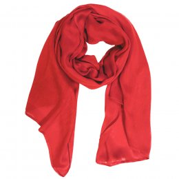 Thought Poppy Red Owen Scarf