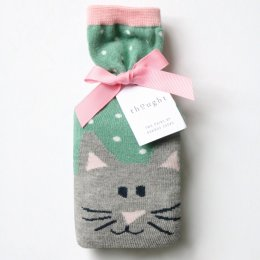 Thought Womens Meow Sock in a Bag Gift Set