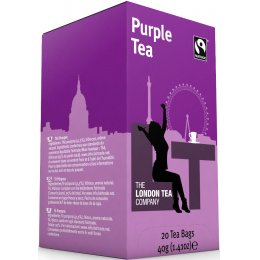 London Tea Company Fairtrade Purple Tea - 20 bags