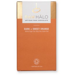 Raw Halo Dark & Sweet Orange Bar - 35g