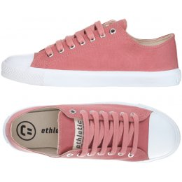 Ethletic Fairtrade Trainers - Rose Dust & White