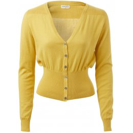 Nomads Organic Cotton Fitted Cardi - Sunflower