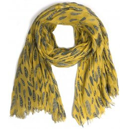 Nomads Printed Silhouette Scarf - Sunflower