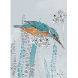 RSPB Kingfisher Lookout Charity Card