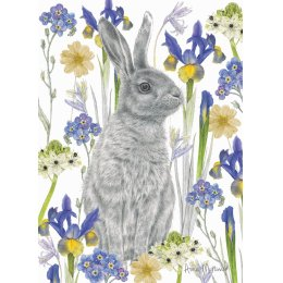 RSPB Hidden Hare Charity Card