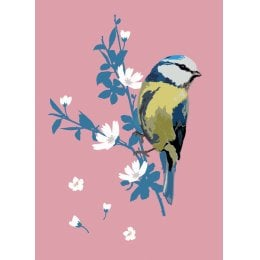RSPB Beautiful Bluetit Charity Card