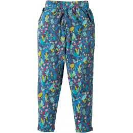 Frugi Gabriella Paradise Bird Gathered Trousers
