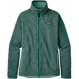 Patagonia Womens Better Sweater Jacket - Beryl Green