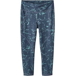 Patagonia Centred Crop Leggings - Dolomite Blue Crackle
