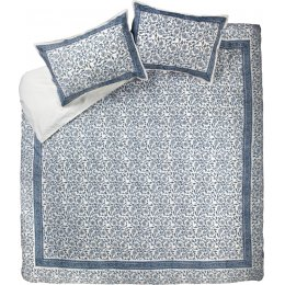 Blue Jasmine Duvet Cover Set - Double