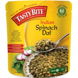 Tasty Bite Indian Spinach Dal - 285g