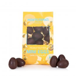 Montezuma's Dark Chocolate Peanut Butter Mini Eggs - 150g