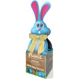 Plamil Bunny Box with 1/2 Easter Eggs - 65g