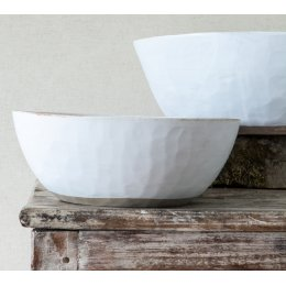 Handmade Fennel Serving Bowl