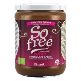 Plamil So Free Reduced Sugar Dark Chocolate Spread - 275g