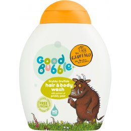 Good Bubble Grubby Gruffalo Hair & Body Wash with Prickly Pear - 250ml