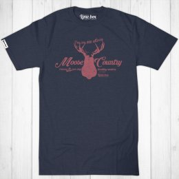 Mens Moose Country Recycled T-Shirt