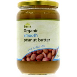 Suma Smooth Organic Peanut Butter (Salted) 700g