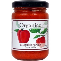 Organico Roasted Pepper Spread & Dip - 140g