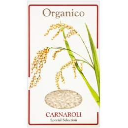 Organico Wholegrain Carnaroli Risotto Rice - 500g