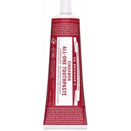 Dr Bronner Organic All-One Fluoride-Free Toothpaste - Cinnamon - 140g