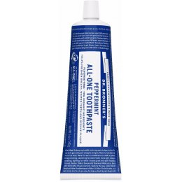 Dr Bronner Organic All-One Fluoride-Free Toothpaste - Peppermint - 140g