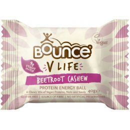 Bounce Vegan Beetroot & Cashew Balls - 40g
