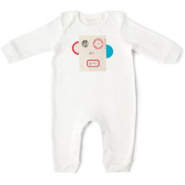 From Babies with Love Organic Monkey Baby Grow