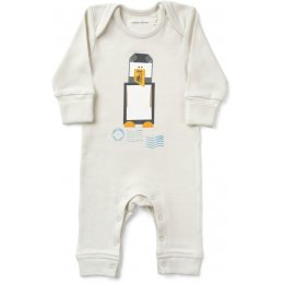 From Babies with Love Organic Penguin Baby Grow