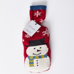Thought Mens Snowman Bamboo Sock in a Bag Gift Set