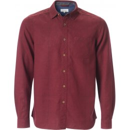 Thought Curtis Check Shirt - Aubergine