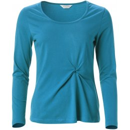 Nomads Twist Detail Top - Turquoise