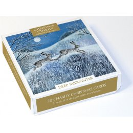 Deep Midwinter Mixed Charity Christmas Cards - Pack of 20