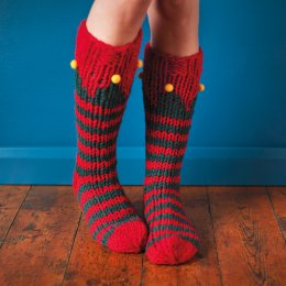 Christmas Elf Socks