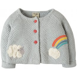 Frugi Cute as a Button Cardi