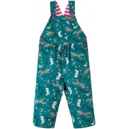 Frugi Ethel Cord Dungaree - Alpine Friends