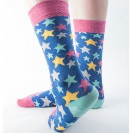 Doris & Dude Womens Star Bamboo Socks