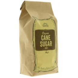 Suma Prepacks Organic Raw Cane Sugar 500g