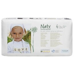 Naty by Nature Nappies Economy Pack - Maxi Size 4 - Pack of 46