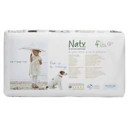 Naty by Nature Babycare Nappies Economy Pack x 44 -  Medium 4+