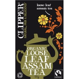 Clipper Fairtrade Organic Assam Loose Tea 125 G
