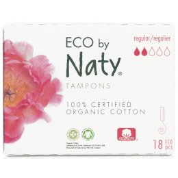 Eco by Naty Naty Digital Tampons - Super - 18 pcs