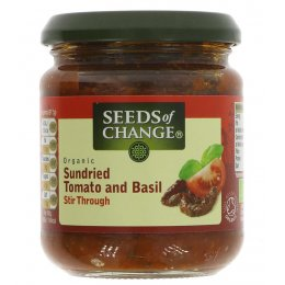 Seeds Of Change Sundried Tom & Basil Stir in - 195g