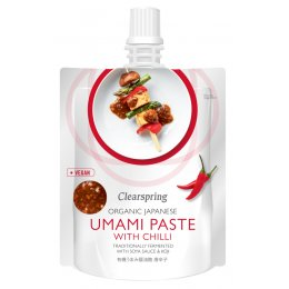Clearspring Organic Umami Paste with Chilli - 150g