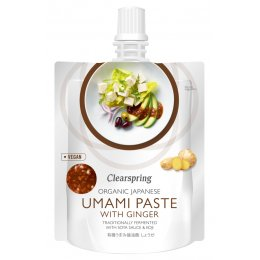 Clearspring Organic Umami Paste with Ginger - 150g
