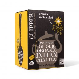 Clipper Organic Indian Chai - 20 Bags