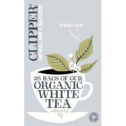 Clipper Organic White Tea 26 Bags test