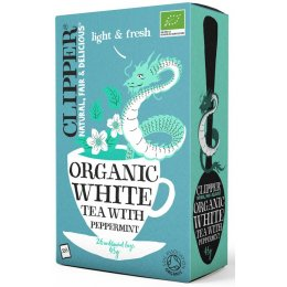 Clipper Organic White Tea with Peppermint 26 Bags