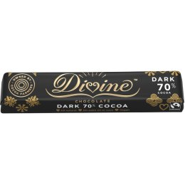 Divine 70% Dark Chocolate Bar - 35g