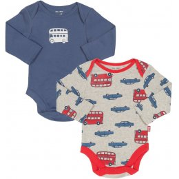 Kite Beep Beep Bodysuits - Pack of 2